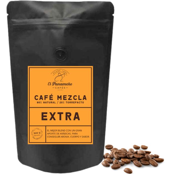 cafe mezcla natural torrefacto