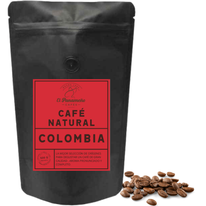 cafe natural Colombia
